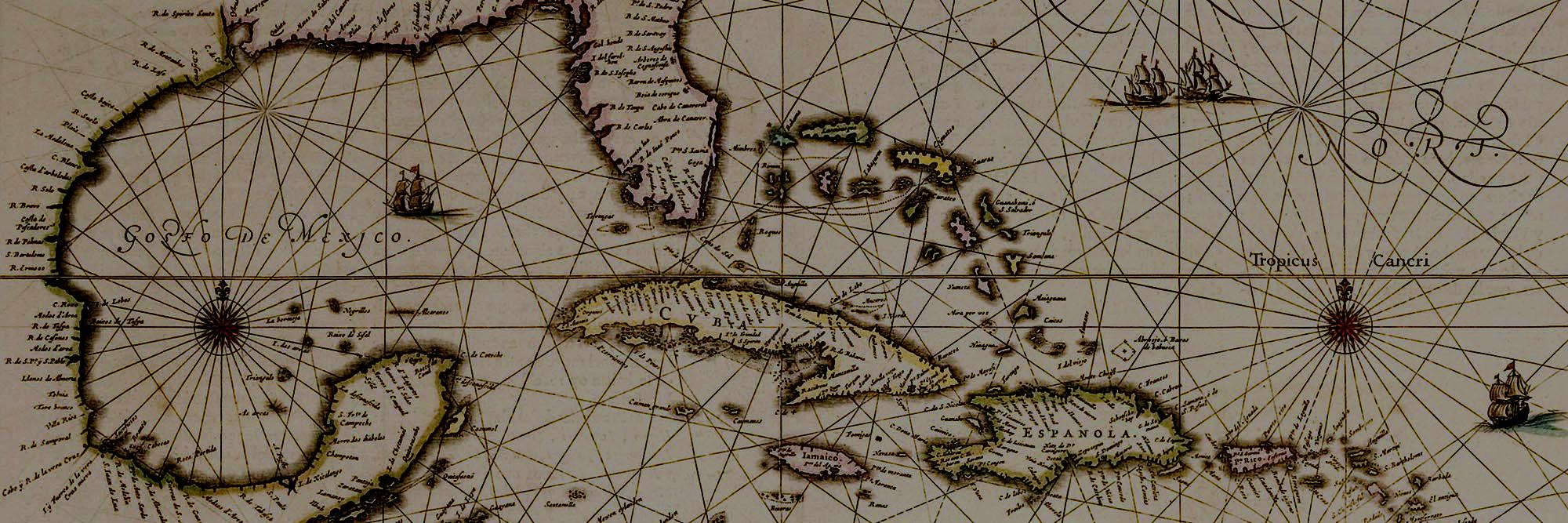 carribean map