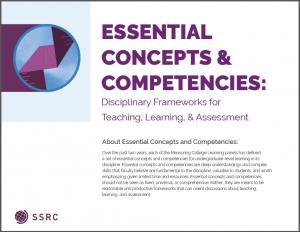 Essential Concepts & Competencies - MCL Framework