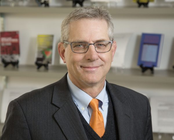 Kevin Leicht, professor and head, dept. of communication