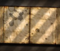 Old Tome with variable light